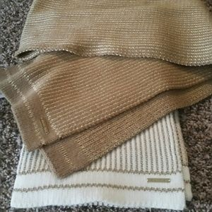 2 NWT Michael Kors scarves